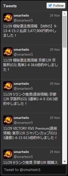 SMARTWIN(スマートウィン) ツイッター